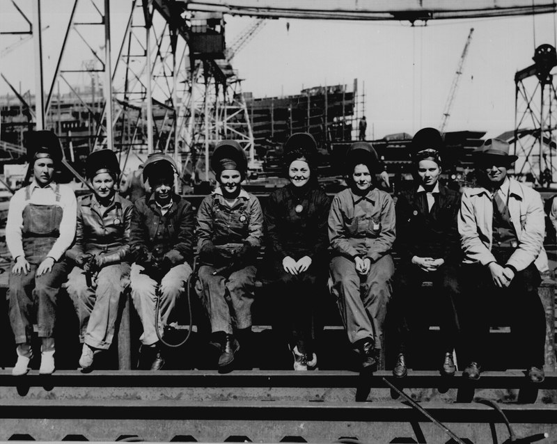 Women In The Workforce Womens Roles On The Homefront The United