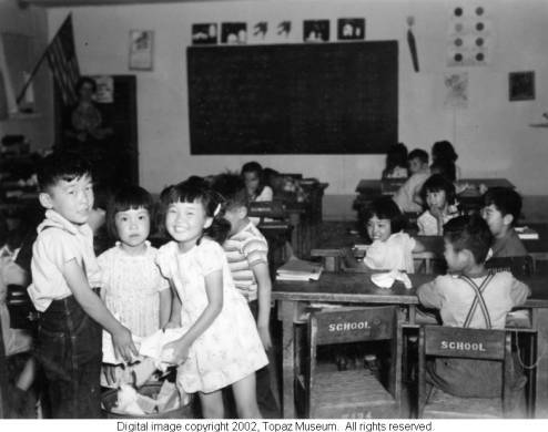 Education · Japanese Internment · The United States in World